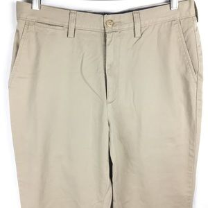 Nautica Pants - Nautica Men's Khaki Pants Flat Front 32 x 30